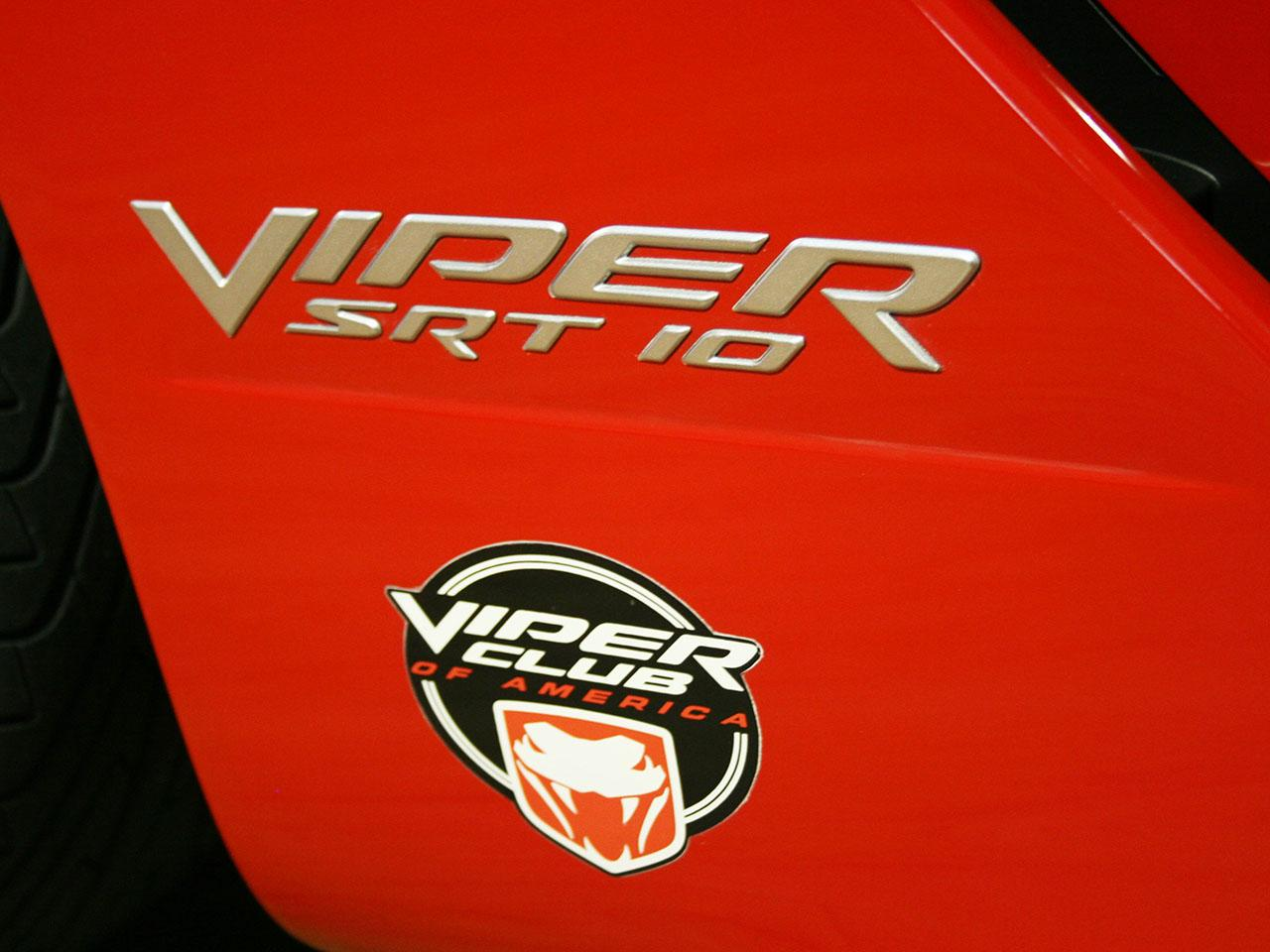 2006 Dodge Viper Srt 10 Vca Edition