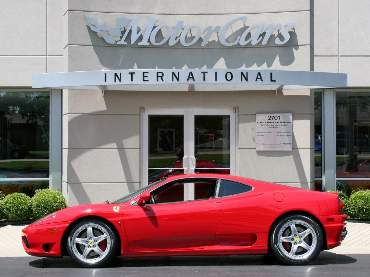 2004 Ferrari 360 Coupe