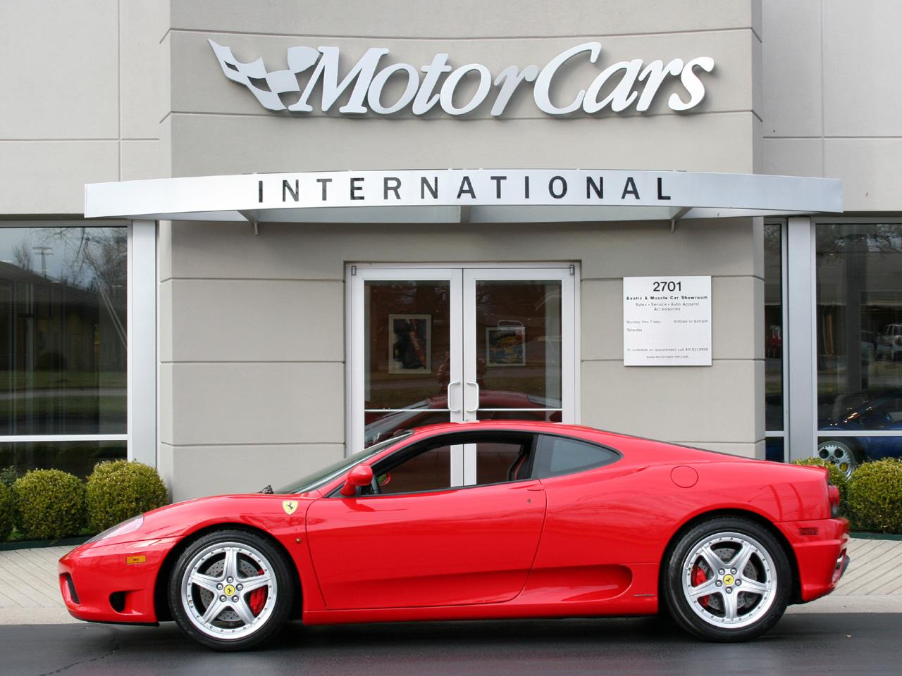 2004 Ferrari 360 F1 Coupe