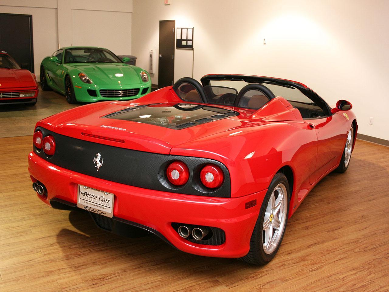 2005 Ferrari 360 F1 Spider