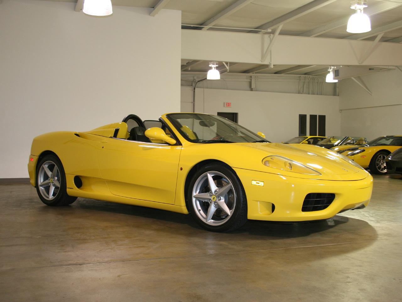 2003 ferrari 360 spider. Black Bedroom Furniture Sets. Home Design Ideas