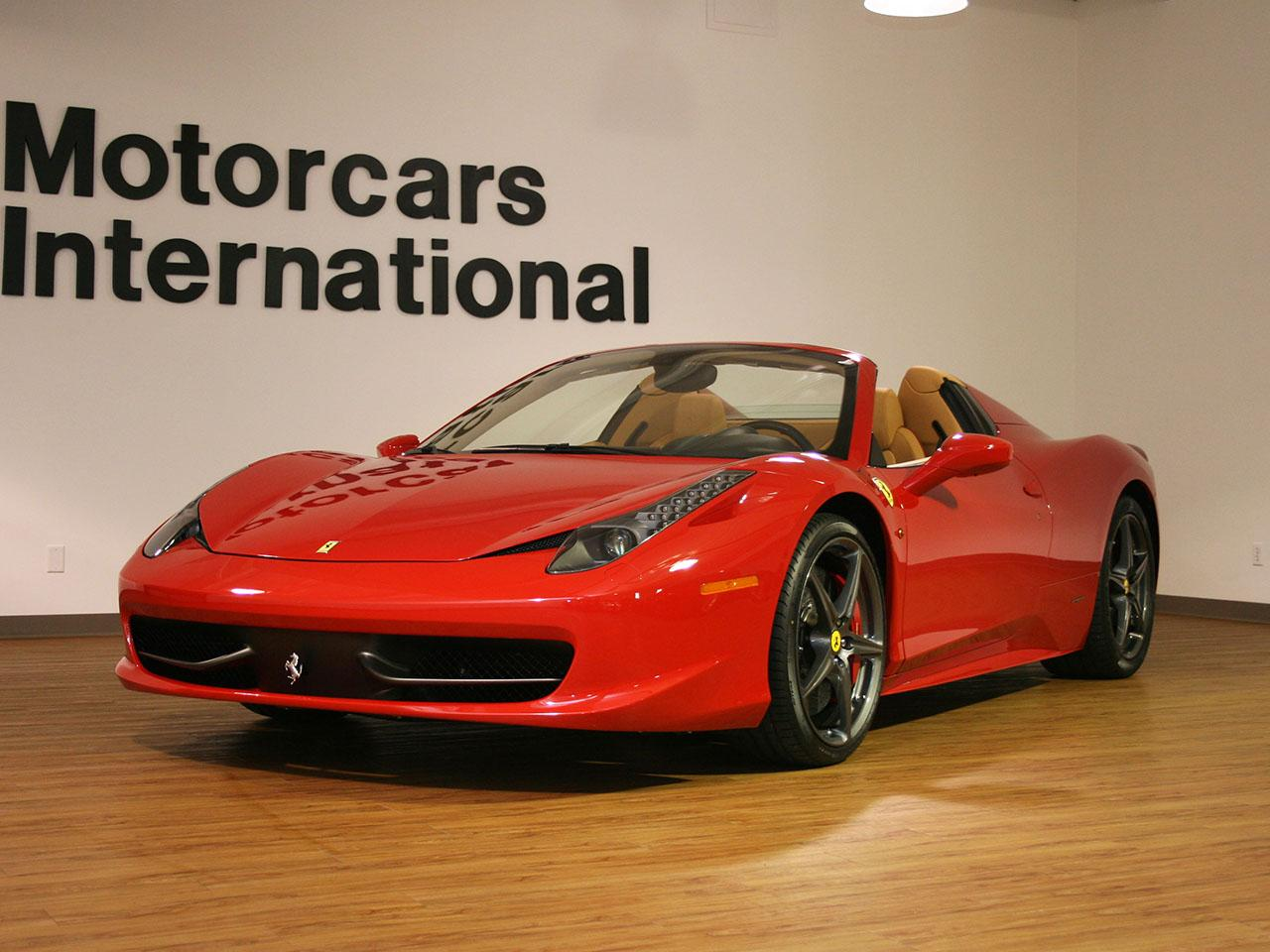 red ferrari 458 italia spider. Black Bedroom Furniture Sets. Home Design Ideas