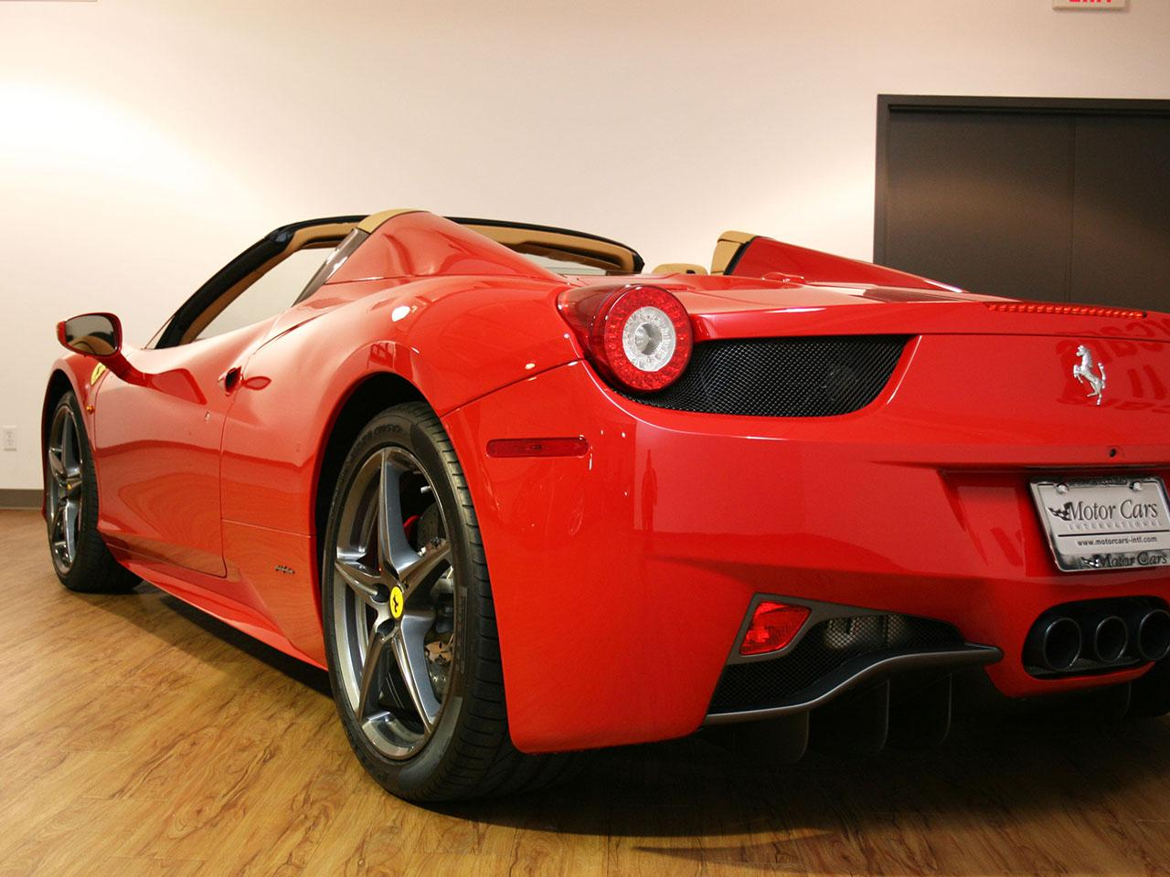 2012 ferrari 458 italia spider. Cars Review. Best American Auto & Cars Review