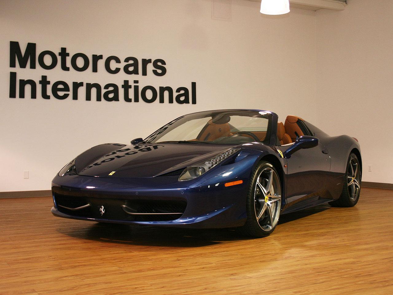 2013 ferrari 458 italia spider. Cars Review. Best American Auto & Cars Review