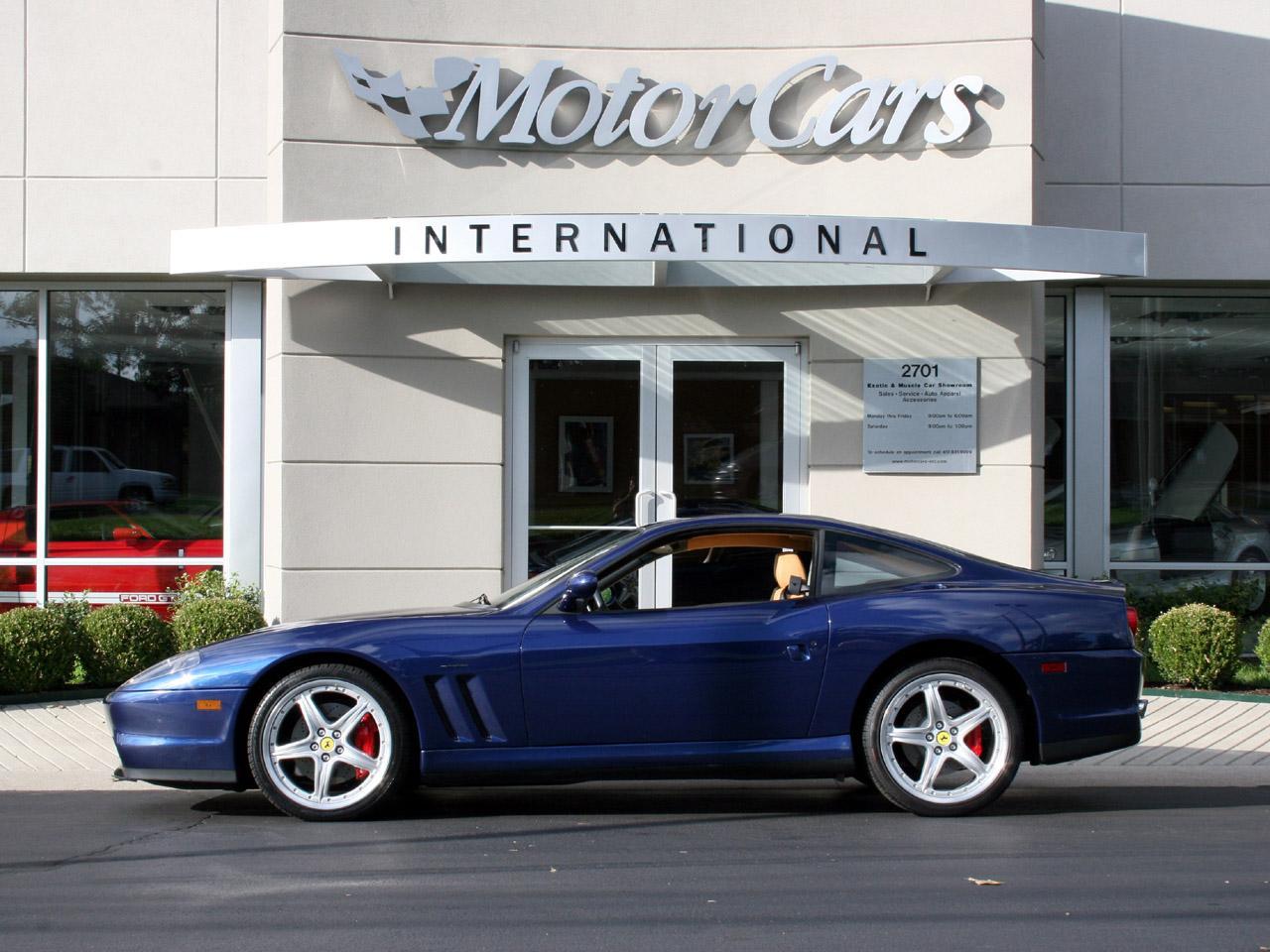 2003 Ferrari 575M F1 Maranello