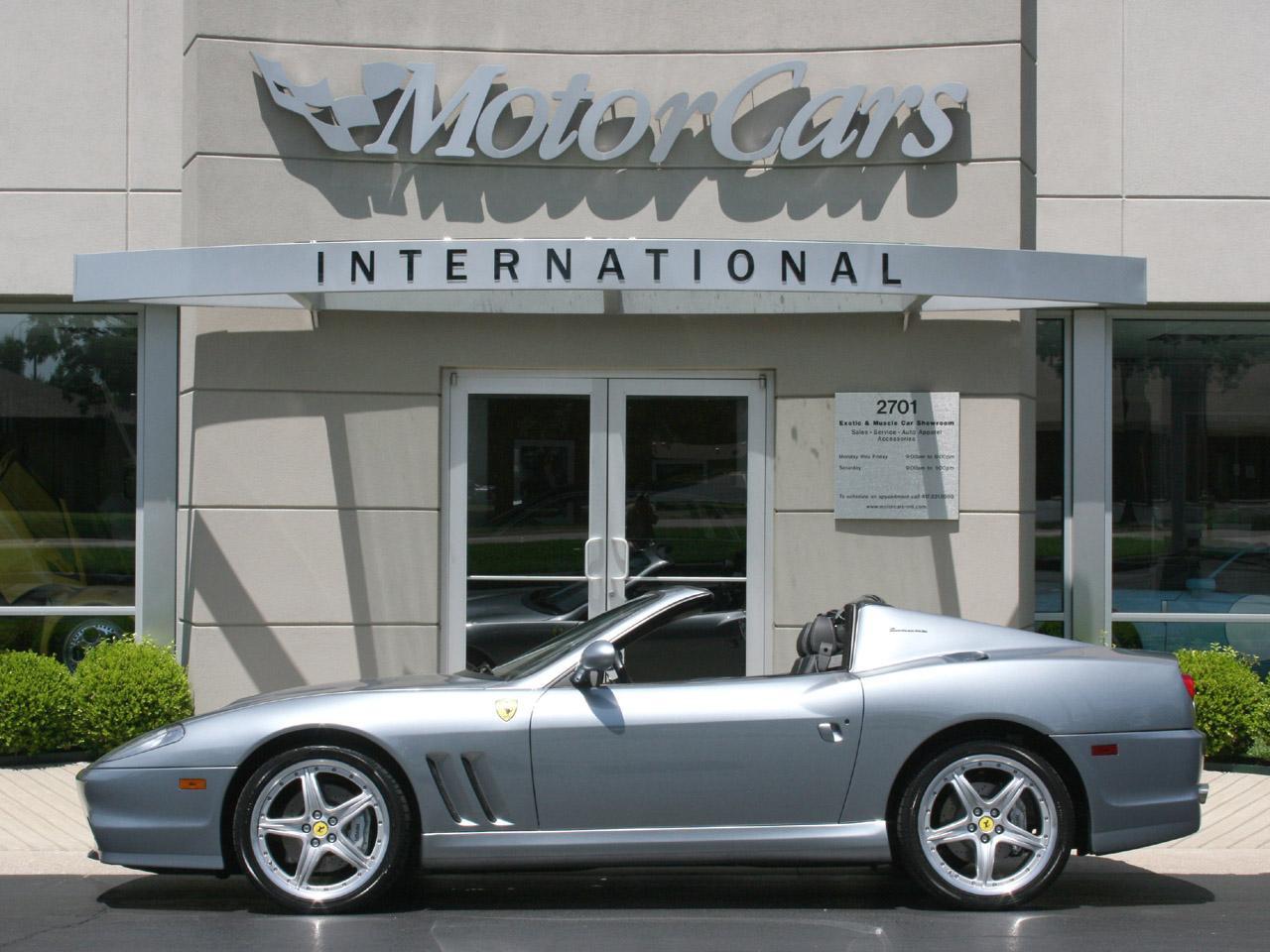 2005 Ferrari 575M F1 Superamerica
