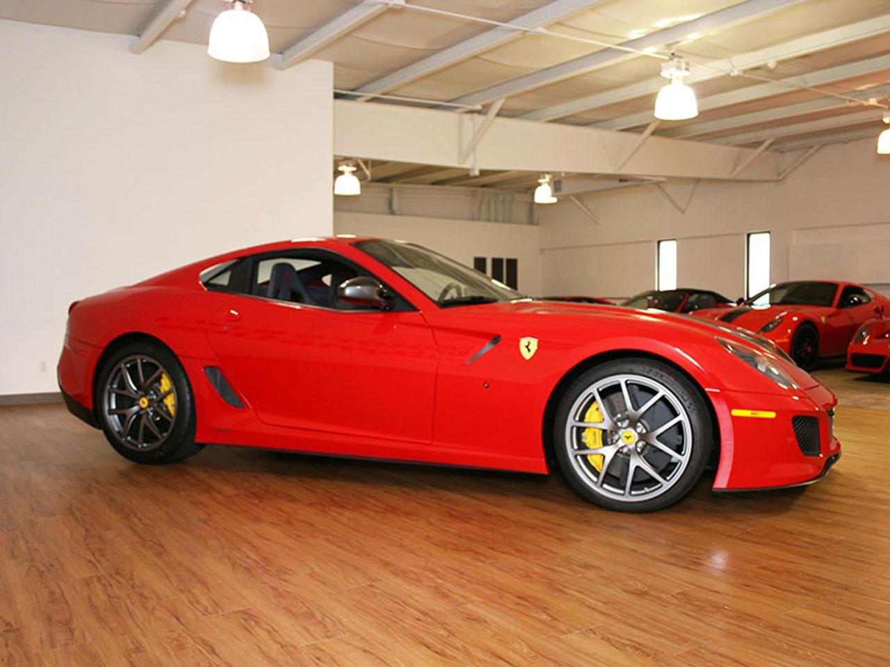 2011 Ferrari 599 GTO