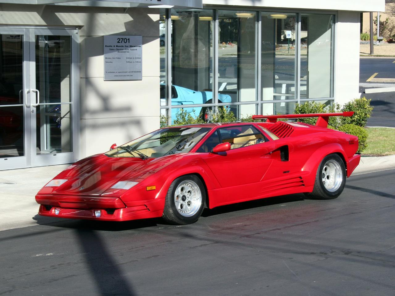 1989 Lamborghini Anniversary Countach