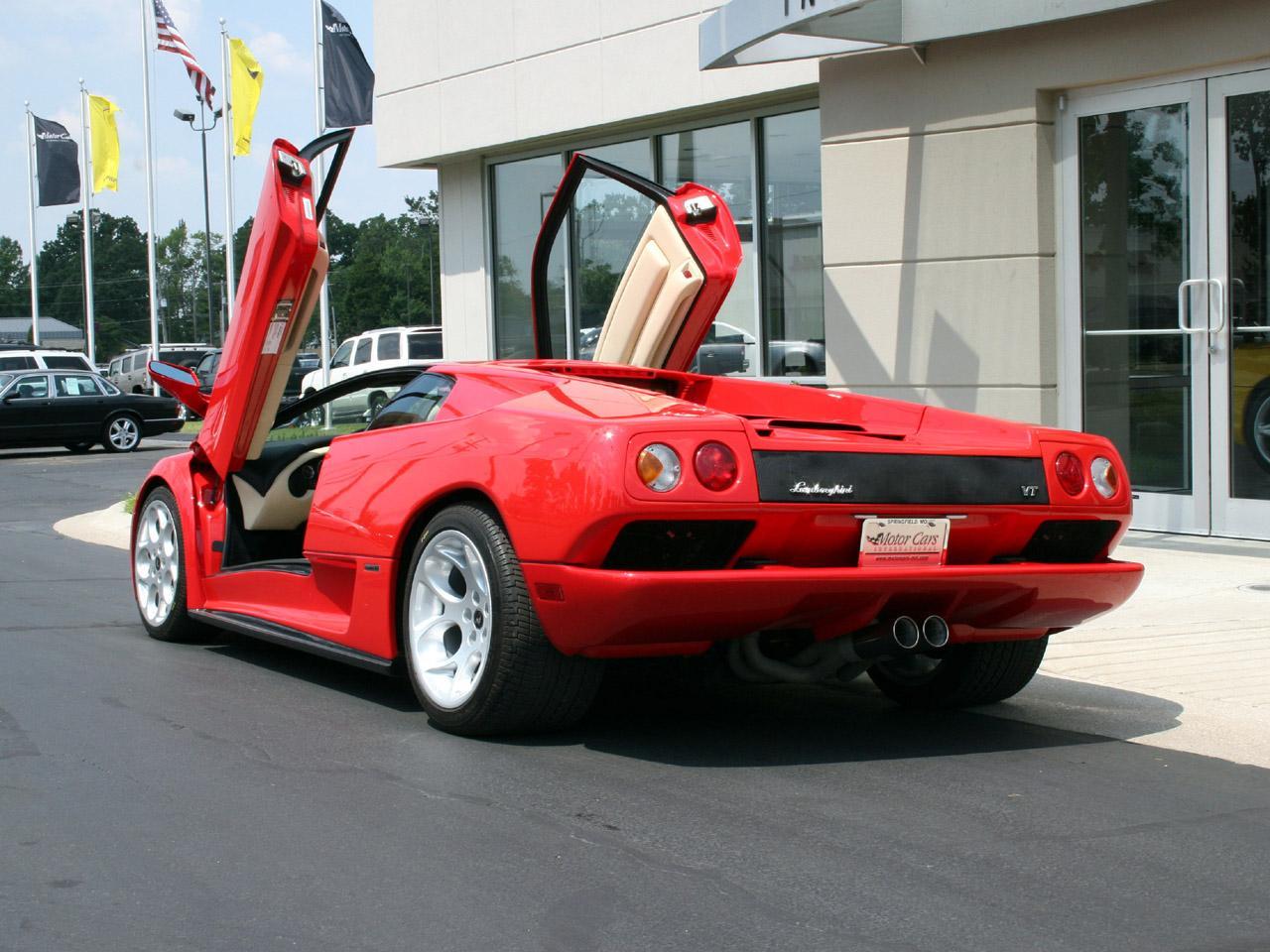 2001 Lamborghini Diablo 6 0 Vt