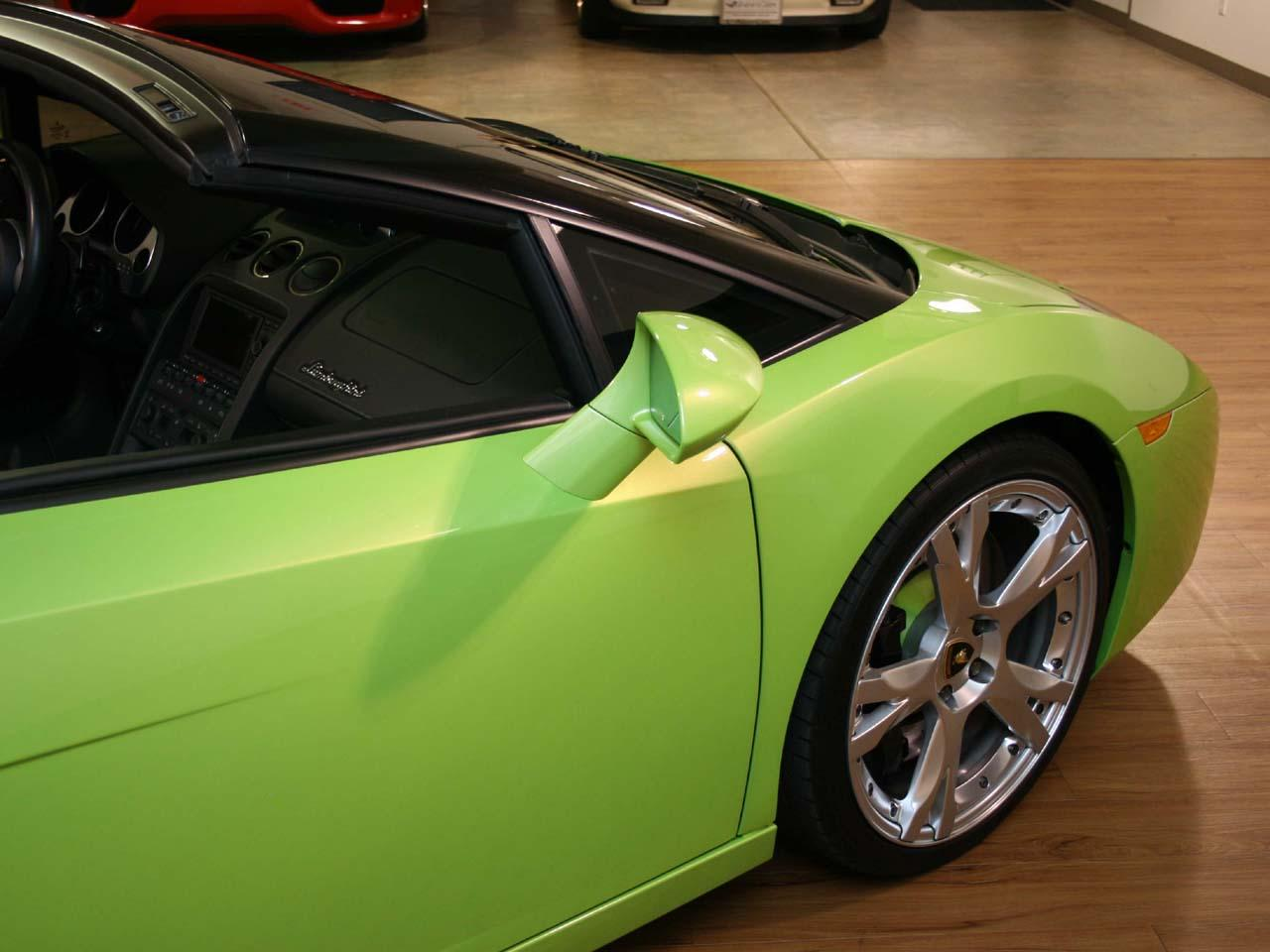 2008 Lamborghini Gallardo Spyder E Gear