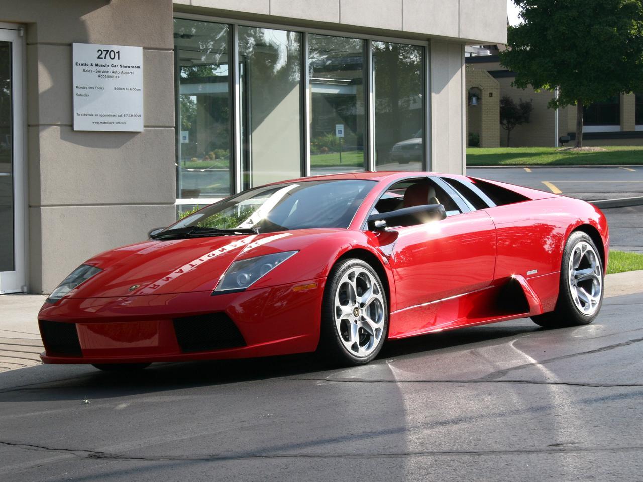 2005 Lamborghini Murcielago E Gear