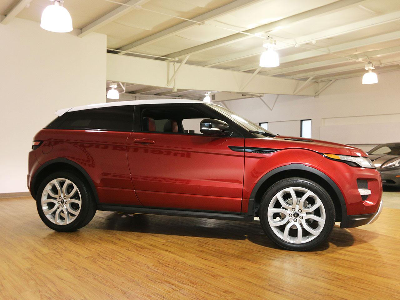 2012 land rover evoque coupe. Black Bedroom Furniture Sets. Home Design Ideas