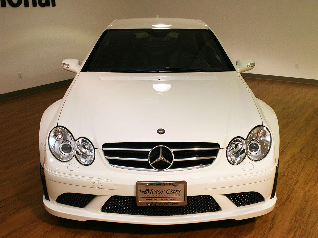 2008 mercedes benz clk63 black series for Mercedes benz m series