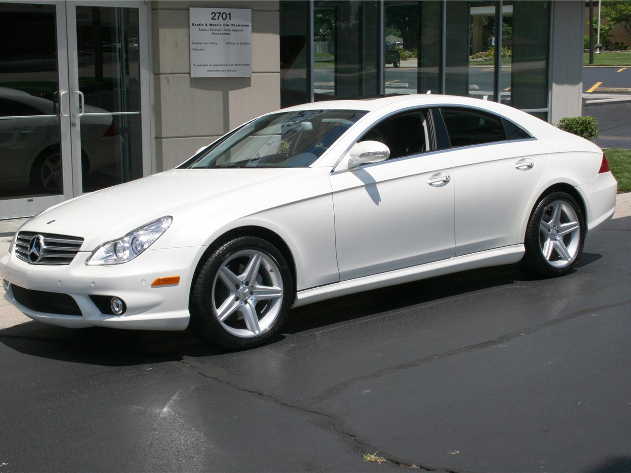 Image gallery 2008 cls550 for Mercedes benz cls 550