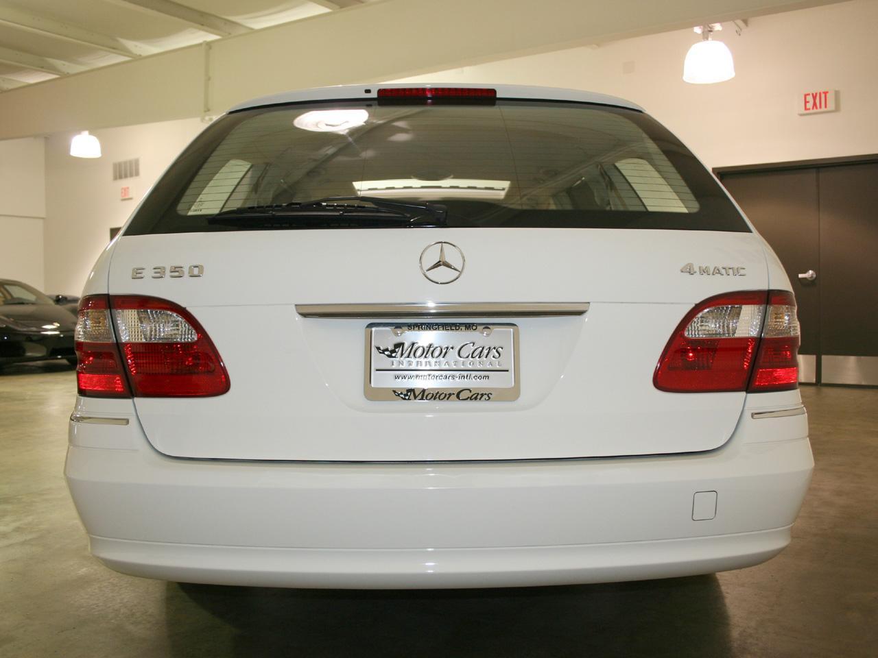 2006 Mercedes Benz E350 Wagon 4matic