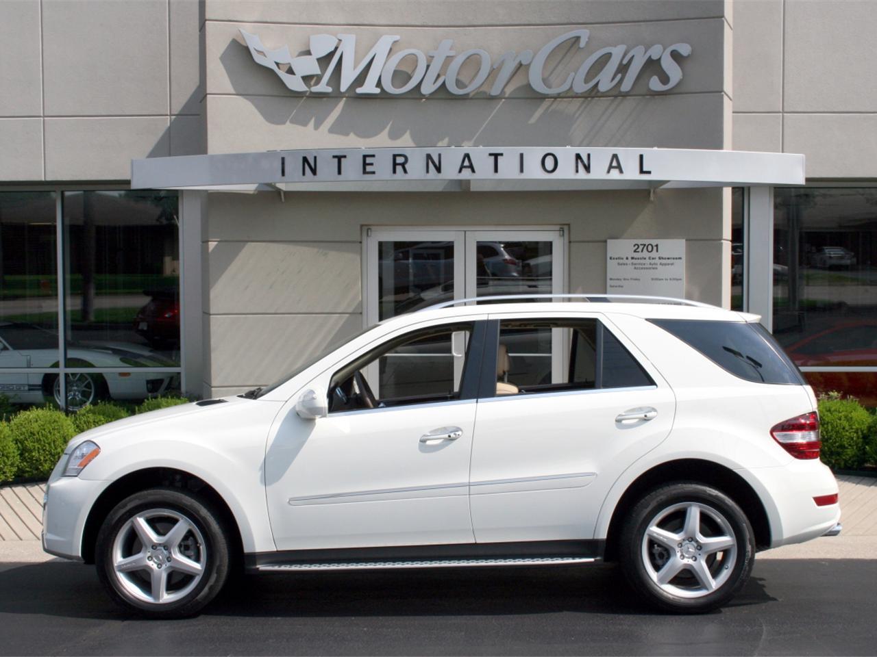 2009 mercedes benz ml 550 for Mercedes benz finance address