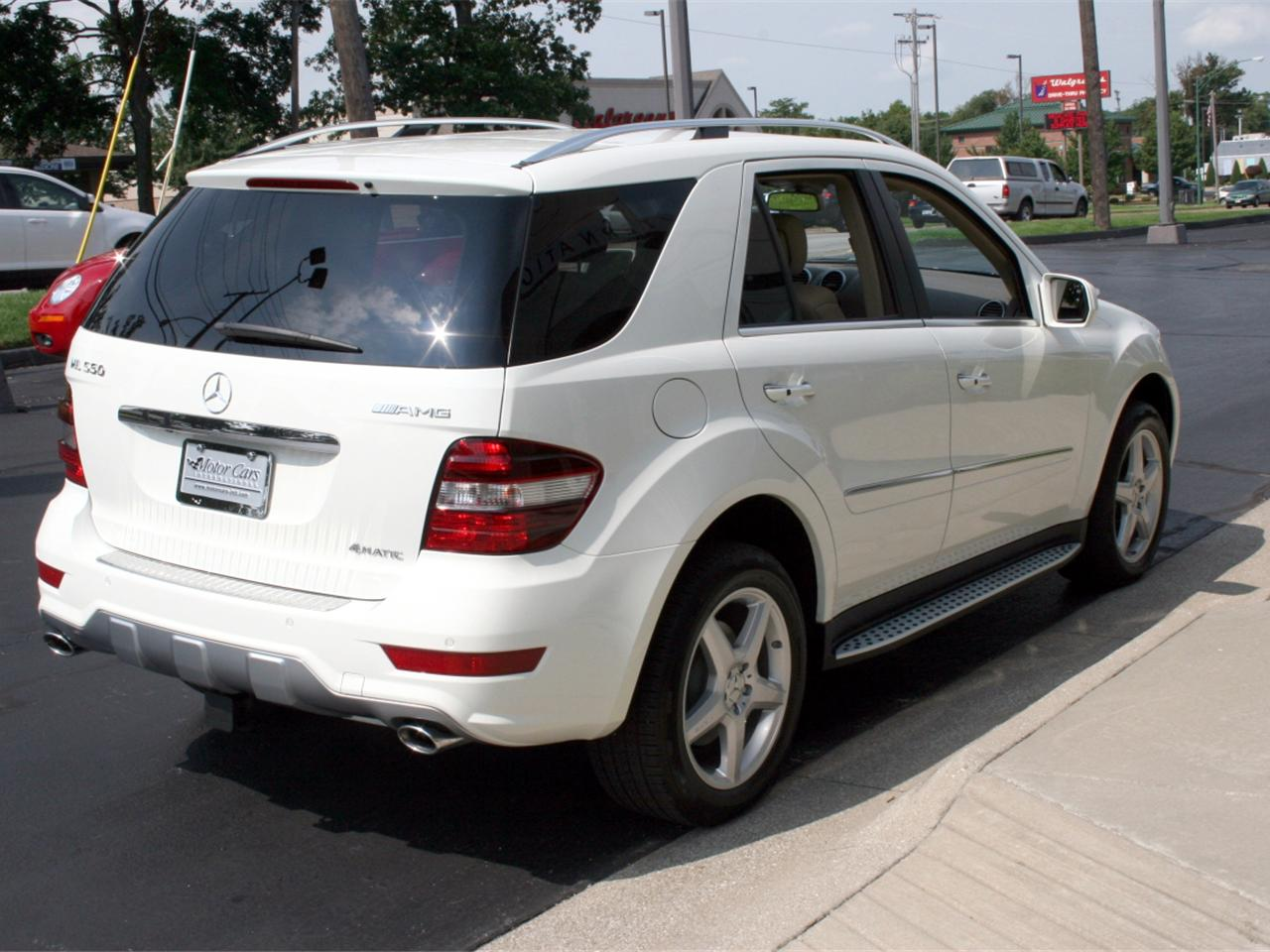 Image gallery 2009 mercedes ml550 for 2009 mercedes benz ml350 4matic for sale