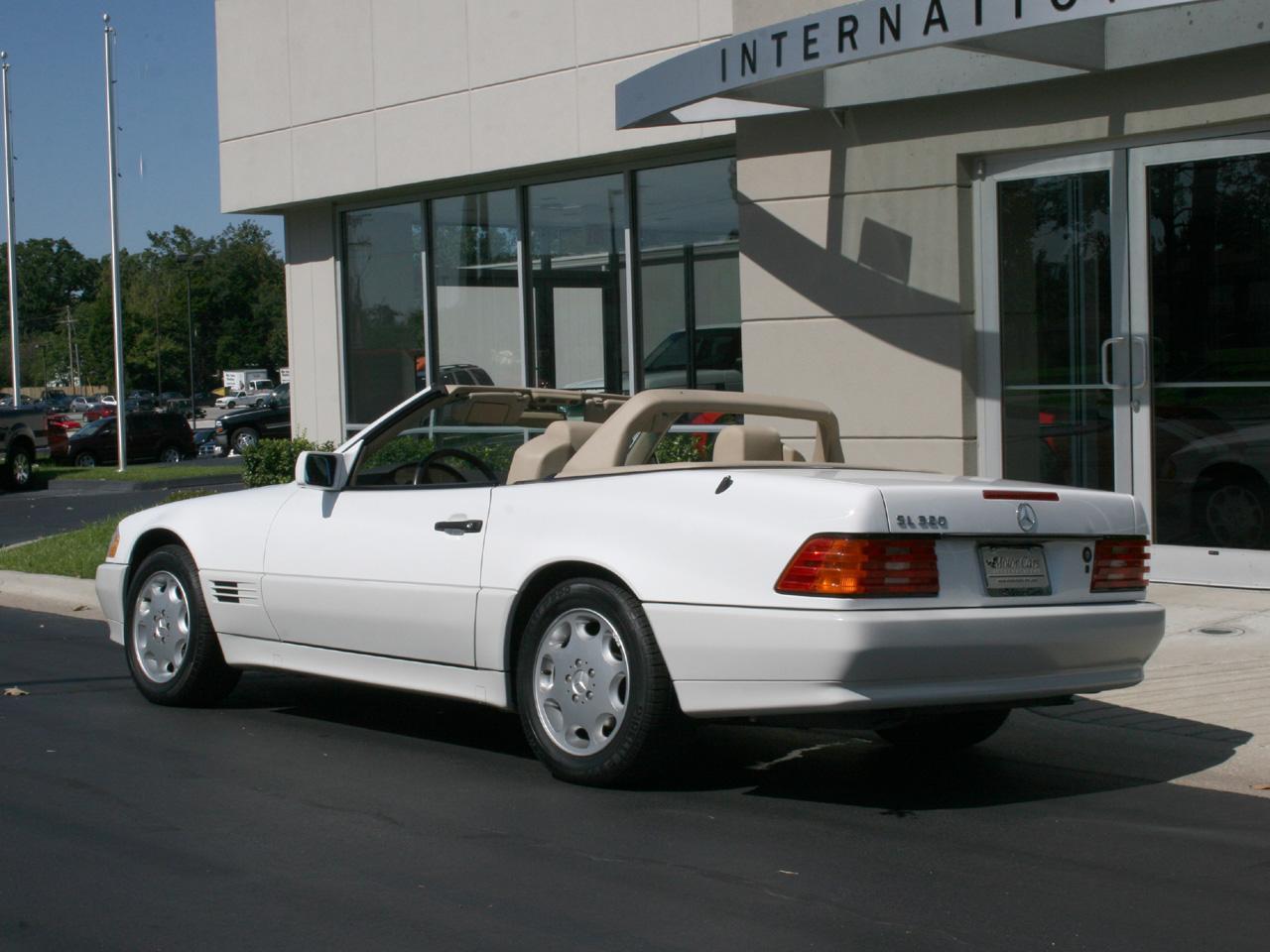 1995 mercedes benz sl 320 roadster. Black Bedroom Furniture Sets. Home Design Ideas