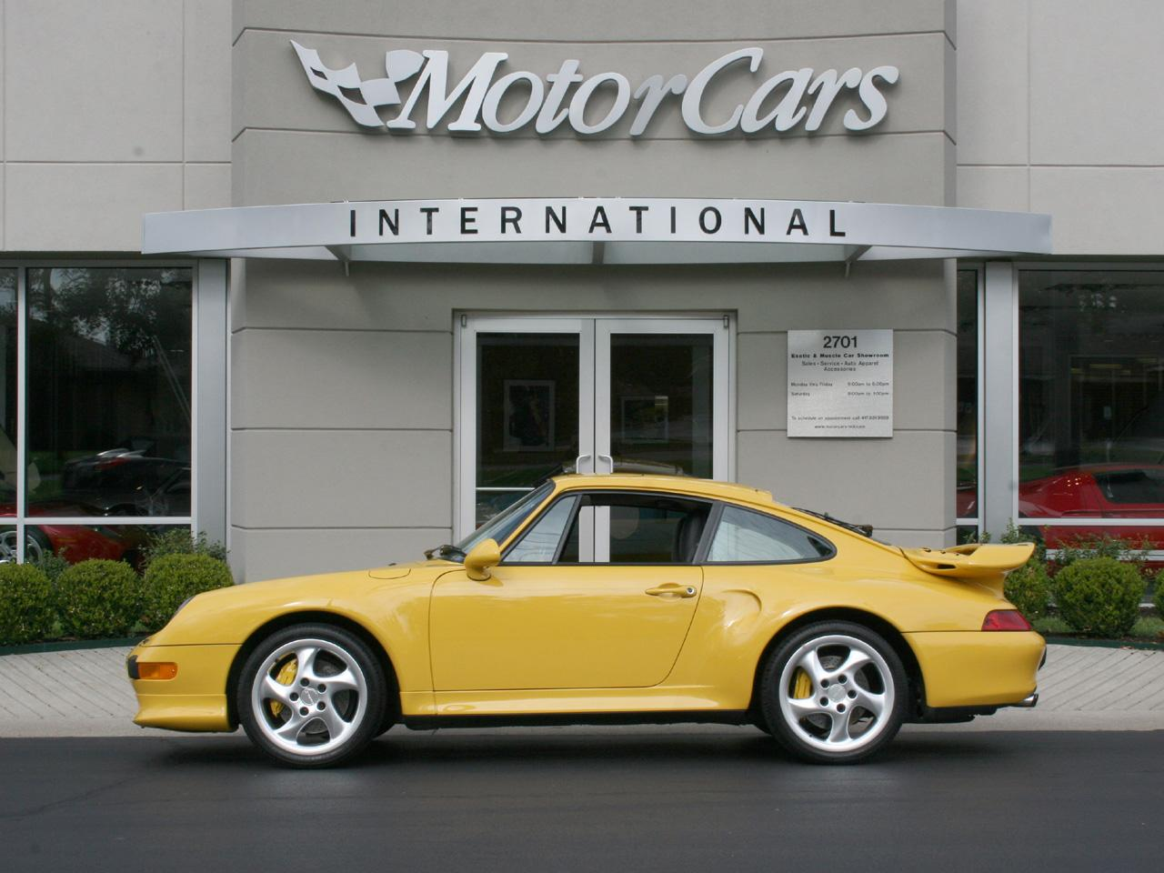 1997 Porsche 993 911 Twin Turbo S
