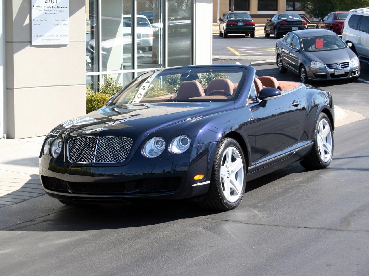 2007 bentley continental gt convertible. Black Bedroom Furniture Sets. Home Design Ideas