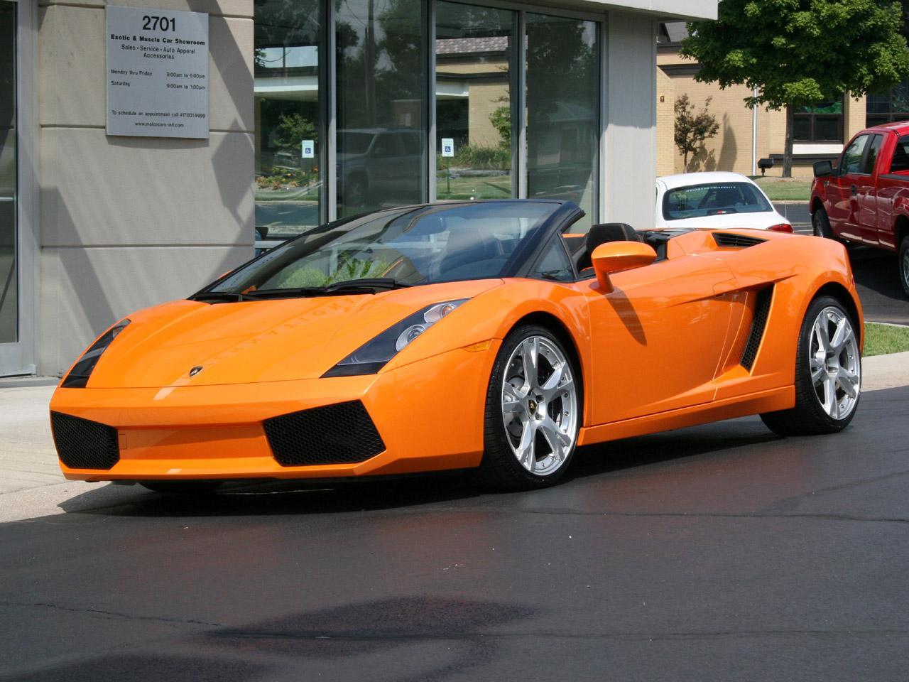 2006 Lamborghini Gallardo Spyder E Gear
