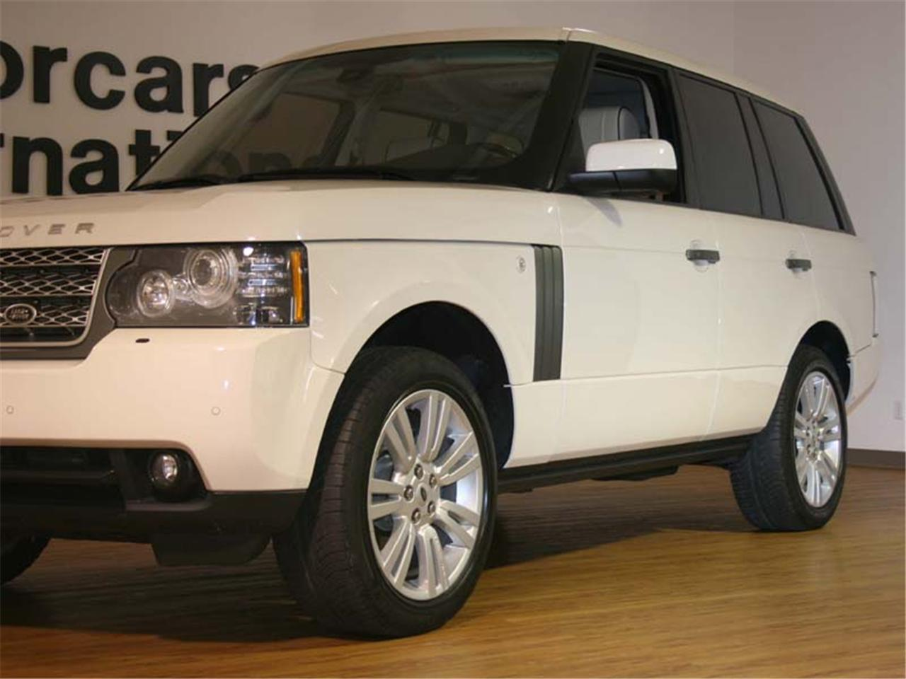 2010 land rover range rover hse. Black Bedroom Furniture Sets. Home Design Ideas