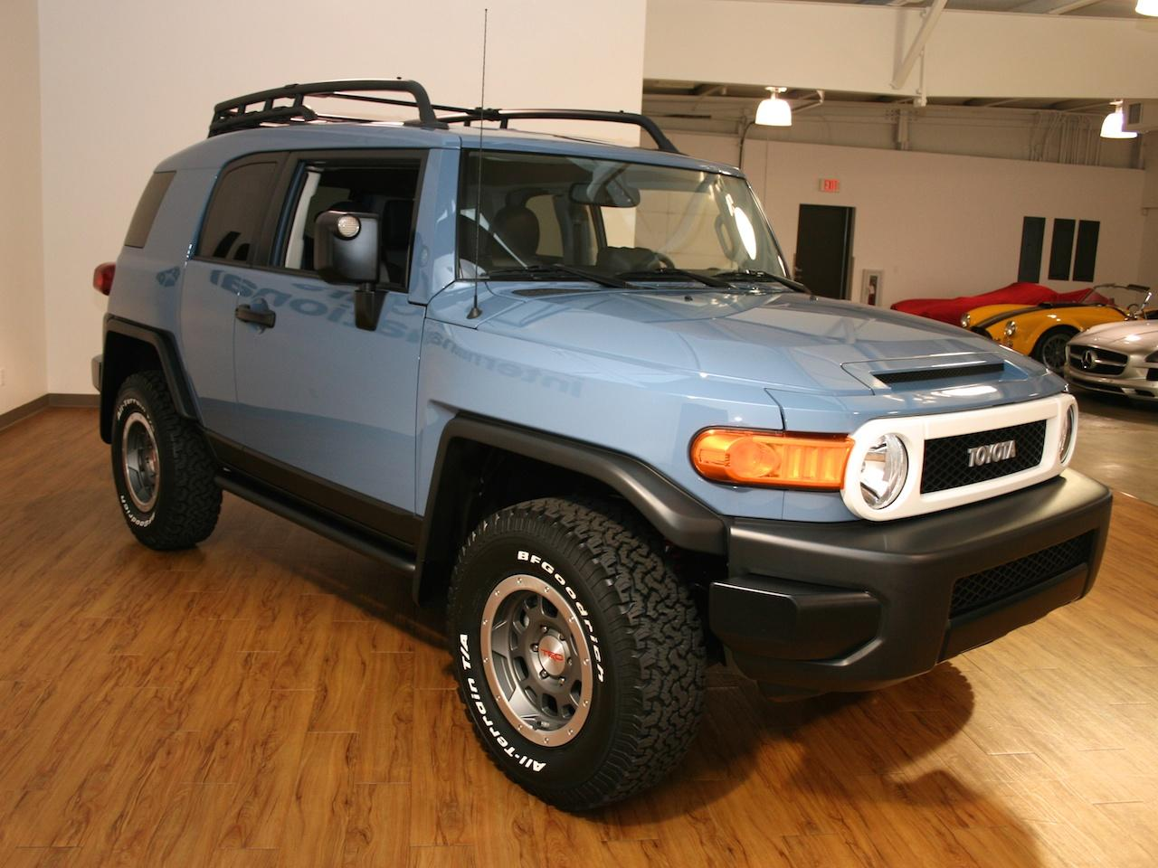 2014 fj cruiser trail team edition for sale autos post. Black Bedroom Furniture Sets. Home Design Ideas