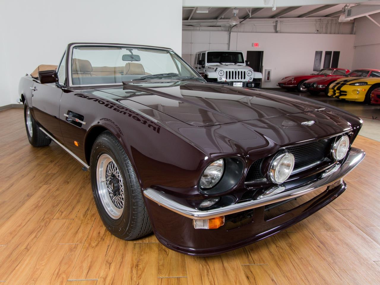 1987 aston martin v8 volante. Black Bedroom Furniture Sets. Home Design Ideas