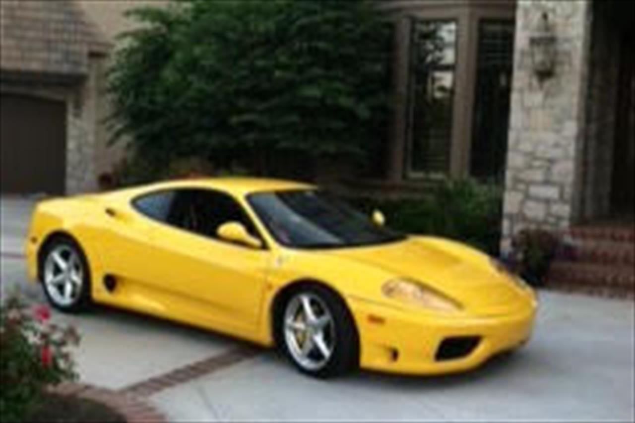 2003 Ferrari 360 F1 Coupe