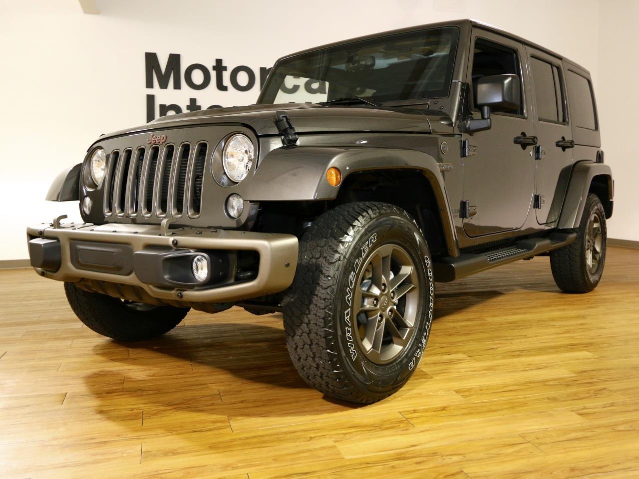 of auto news jeep models anniversary showcases