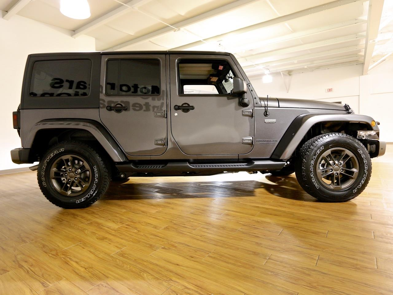 2016 jeep wrangler unlimited 4x4 75th anniversary edition. Black Bedroom Furniture Sets. Home Design Ideas