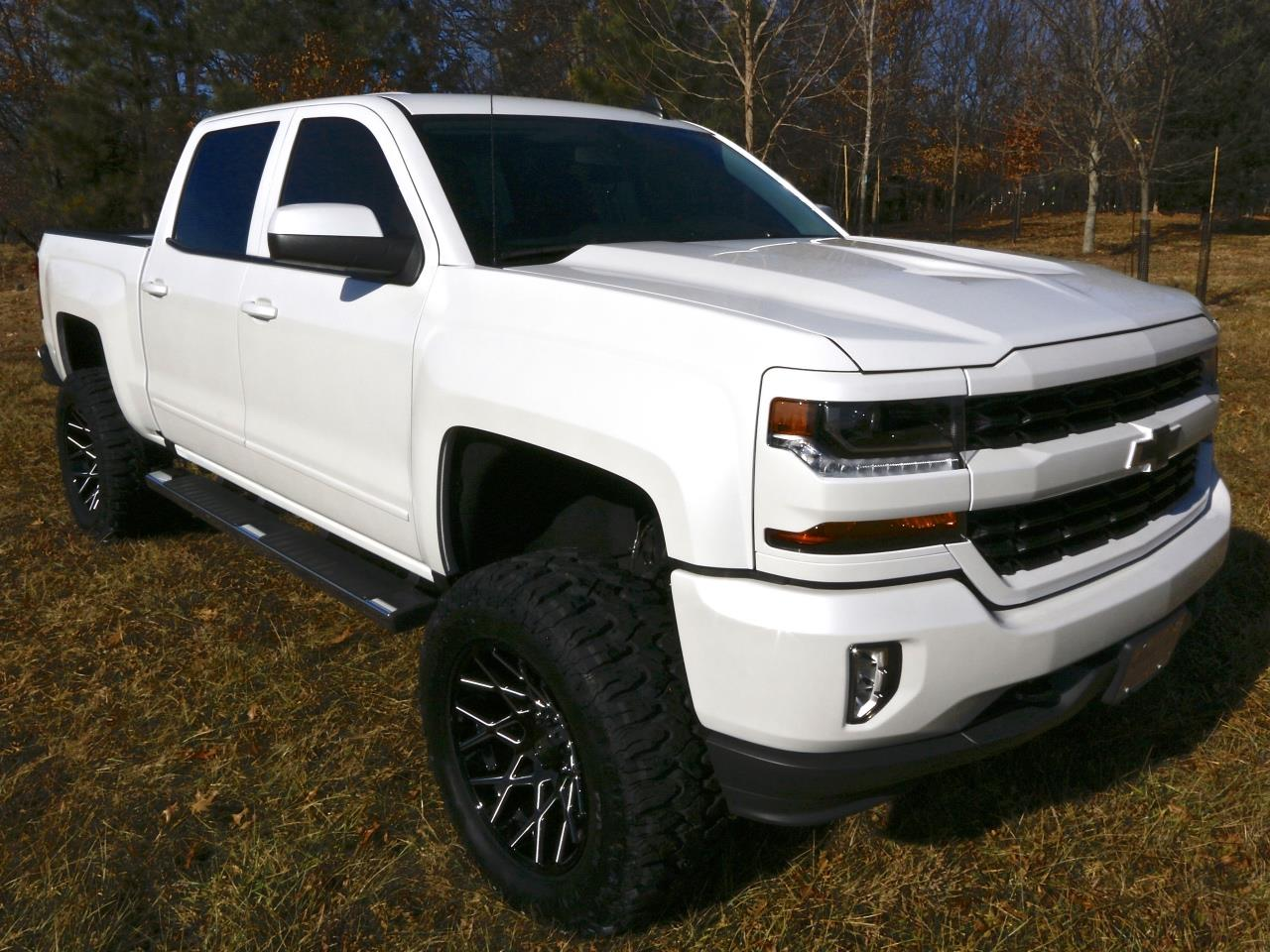 2016 chevrolet silverado 1500 4wd lt crew custom build. Black Bedroom Furniture Sets. Home Design Ideas