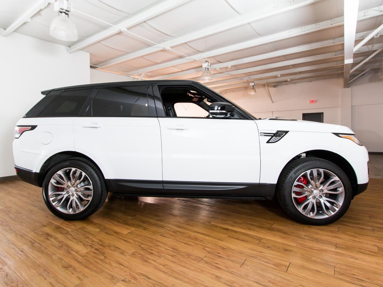2016 land rover range rover sport supercharged. Black Bedroom Furniture Sets. Home Design Ideas