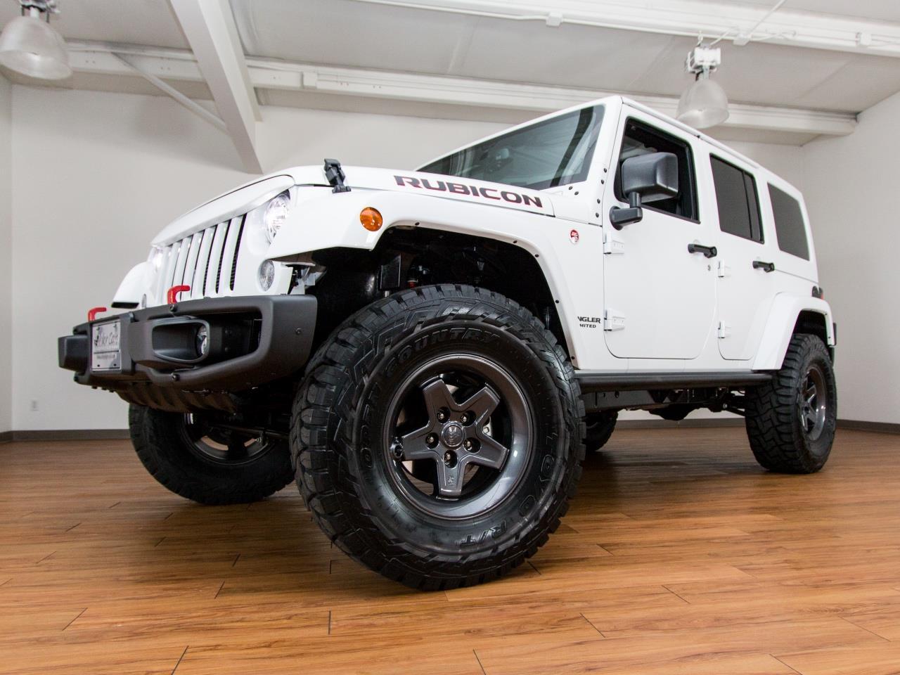 2017 Jeep Wrangler Unlimited Rubicon 4X4 Hard Rock