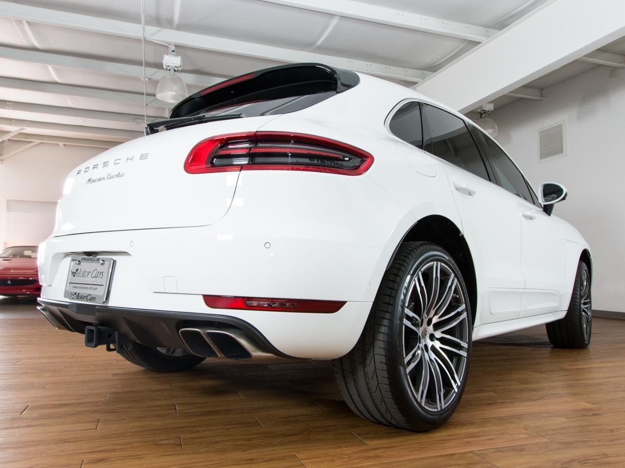 2016 Porsche Macan Turbo Sport Utility 4 Door