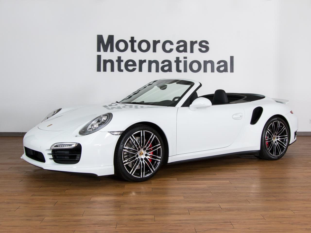 2015 Porsche 911 Turbo Cab